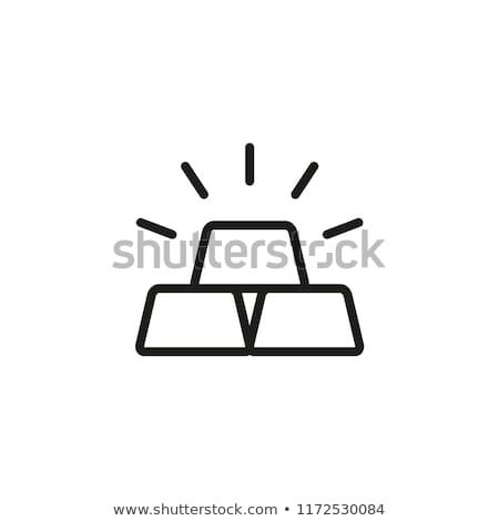 Vault golden Vector Icon Design Stock photo © rizwanali3d