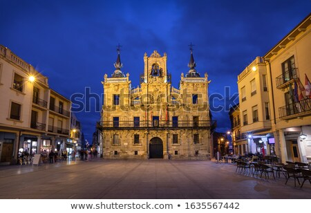 Stock photo: Ayuntamiento de Leon city hall Castilla Spain