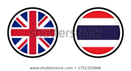Stock photo: United Kingdom and Thailand Flags