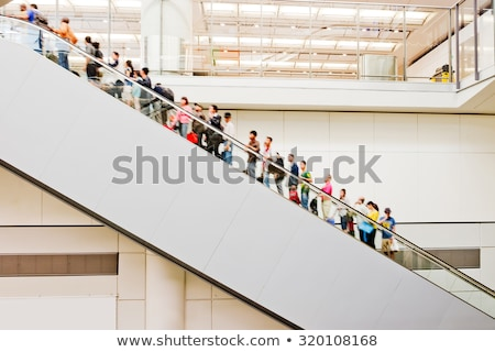 Persons on escalator in shop Stock photo © Paha_L