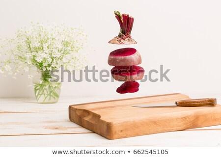 чаши · красный · капуста · продовольствие · приготовления · еды - Сток-фото © mcherevan