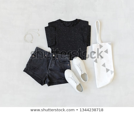 gray shorts with polka dots stock photo © ruslanomega
