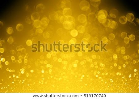 Foto stock: Ouro · preto · fogo · abstrato · luz · projeto