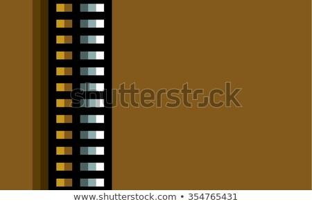 стали Техно Трубы оранжевый свет коричневый Сток-фото © Melvin07