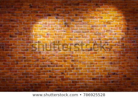 通り 名前 ボード レンガの壁 コピースペース ストックフォト © stevanovicigor