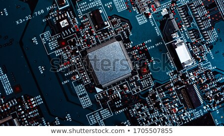 Computer processor CPU close up Stock photo © njnightsky