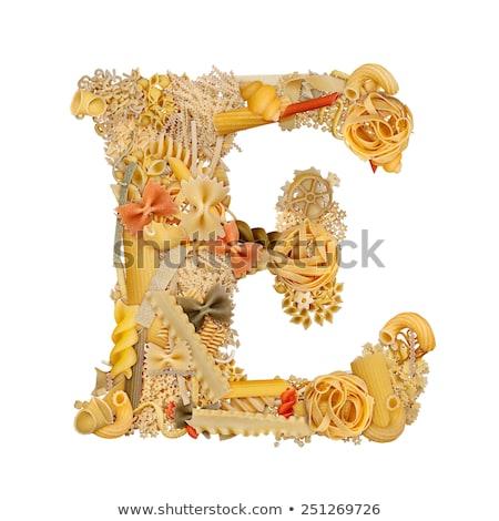 Different words for letter E Stock photo © bluering