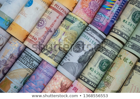 Mix of currencies banknotes - Dollar, Pound Sterling, Euro. Money Stock photo © photocreo