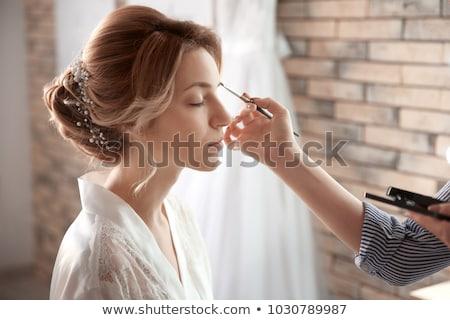 brides make up Stock photo © seenad