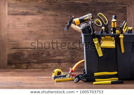 Csináld magad szerszámok különböző asztal munka ipari Stock fotó © racoolstudio