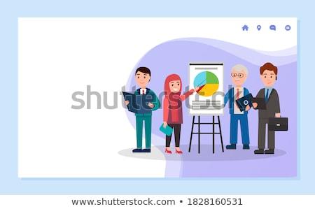 site · planification · web · design · projet · diagramme - photo stock © fuzzbones0