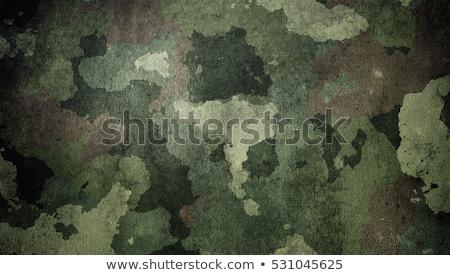 Wojny krajobraz wojskowych pistolet retro ciemne Zdjęcia stock © alphaspirit