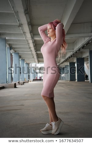 Girl posing outdoors Stock photo © gravityimaging