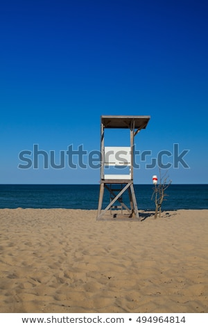 пусто пляж Кейп-Код Массачусетс США Председатель Сток-фото © CaptureLight