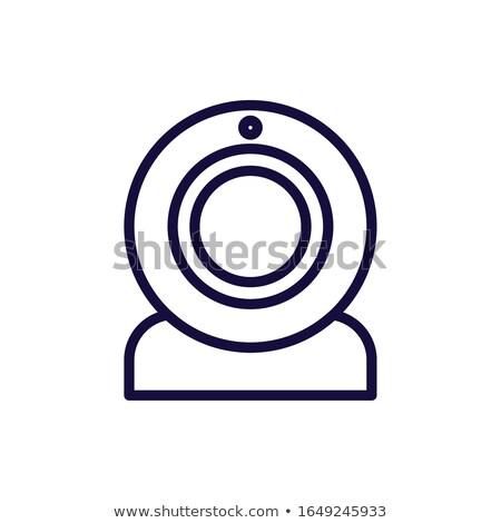 Webcam vector illustration clip-art image Stock photo © vectorworks51