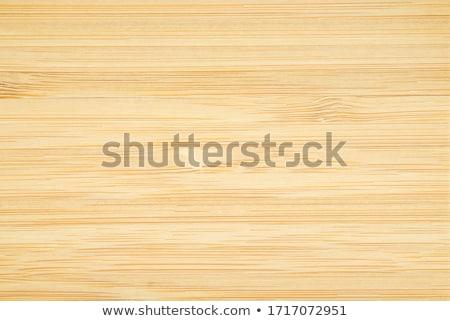 Bambusz fa textúra közelkép fából készült mintázott minta Stock fotó © Taigi