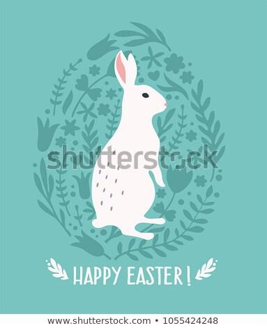 húsvét · kollázs · gyűjtemény · nyolc · élet · fotók - stock fotó © sandralise