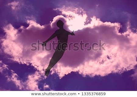 Sogni illustrazione nubi strada porta vita Foto d'archivio © adrenalina
