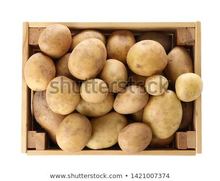 bebê · batatas · rústico · madeira - foto stock © digifoodstock