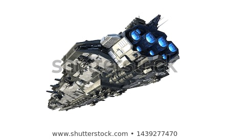 Alien Mothership Stock photo © idesign