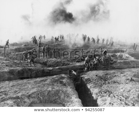 soldiers fighting together stock photo © tawng