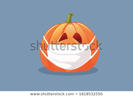 Two Carved Pumpkins Stock photo © searagen