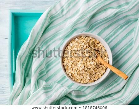 緑 ナプキン 布 白 クリーン ストックフォト © Digifoodstock