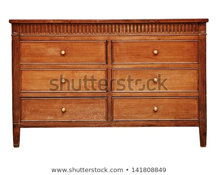Wooden Old Chest of Drawers Stock photo © Voysla