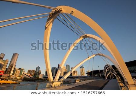 Pedestrian Arch of the Old Victoria Bridge Stock photo © ribeiroantonio