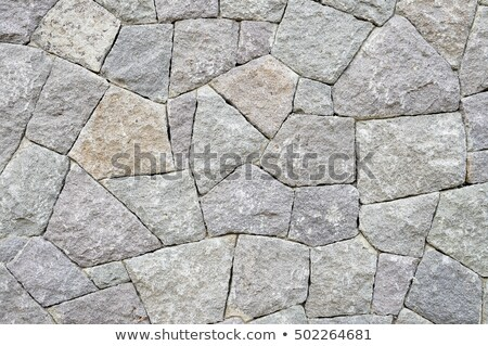 Stock photo: Tightly Packed Full Frame Stone Wall