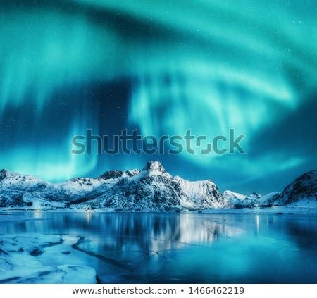 Сток-фото: Ice Landscape Mountain And Ice