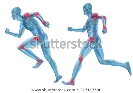 Diagnosis - Rheumatism. Medicine Concept. 3D Illustration. Stock photo © tashatuvango