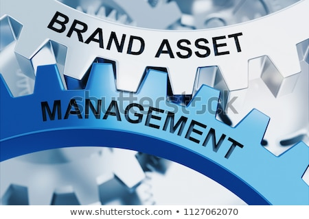Brand Strategy - Mechanism of Metal Gears. 3D. Stock photo © tashatuvango