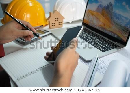 elektronika · mérnök · tesztelés · számítógép · alkatrész · műhely · üzlet - stock fotó © stevanovicigor