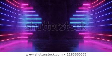 Projektu neon oświetlenie wysoko tle Zdjęcia stock © ssuaphoto
