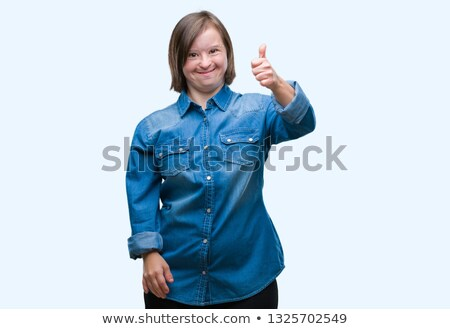 thumbs up down and middle stock photo © oakozhan