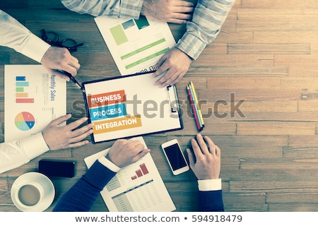 Process Integration - Business Concept. Stock photo © tashatuvango