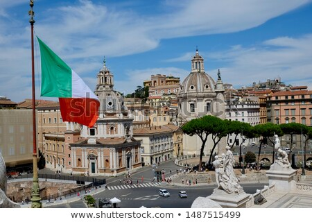 piazza venezia italy stock photo © givaga