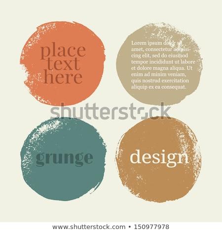 grunge design elements stock photo © oblachko