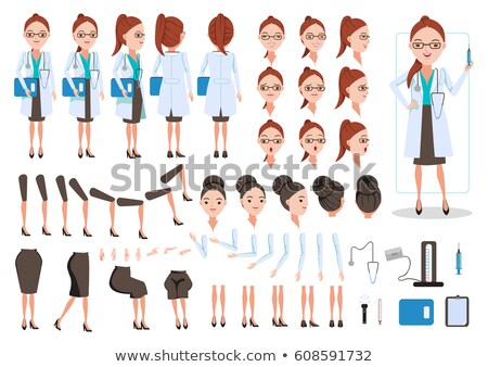 stethoscope icon in different style stock photo © sidmay