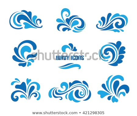 Set of Decorative Floral Curls Stock photo © fixer00