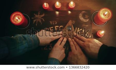 人 · 4 · 奇妙な · 汗 · ワーム · 飢えた - ストックフォト © studiostoks