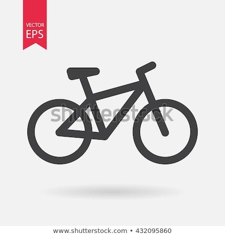 assinar · mountain · bike · bicicleta · diversão · bicicleta - foto stock © kyryloff