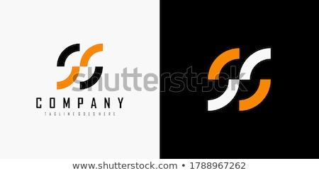 Carta círculo preto ícone vetor rotação Foto stock © blaskorizov