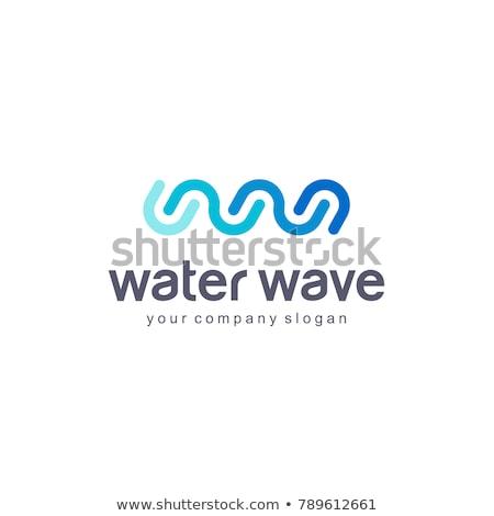 трубы логотип вектора символ дизайна воды Сток-фото © blaskorizov