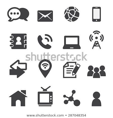 Global Contacts Web Interface Stock photo © alexaldo