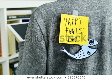 paper fish for april fools day
