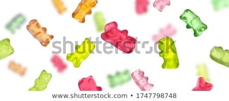 色 製菓 バナー クロワッサン チョコレート ストックフォト © netkov1