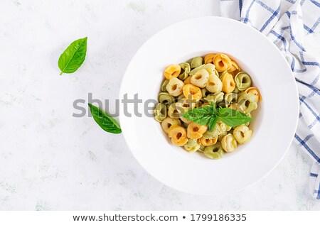 Puchar nadziewany żywności ser oleju pszenicy Zdjęcia stock © Alex9500