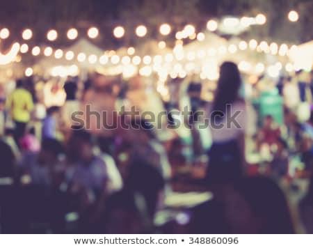 éjszaka buli ünneplés aktív életstílus vektor Stock fotó © robuart